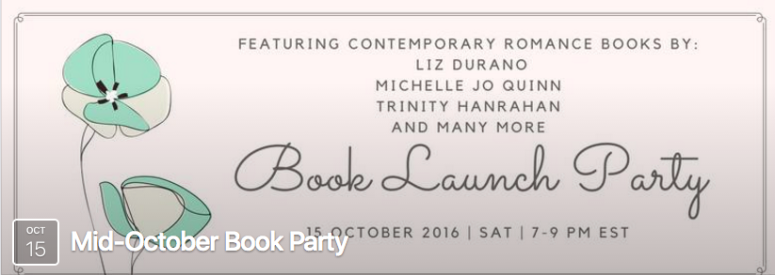 Mid-October Book Launch Party