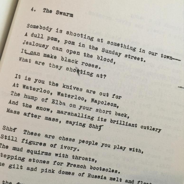 Sylvia Plath Ariel Poems 3